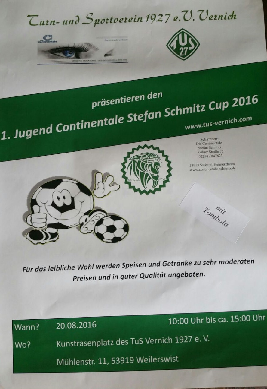 Flyer Conti Cup 2016